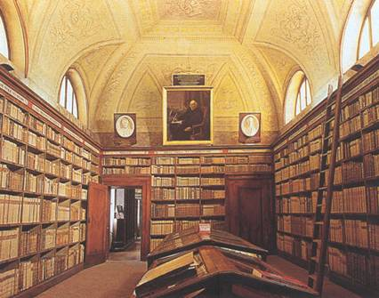 Morcelli's library