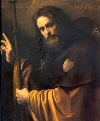 the Apostle St. James the Major  by Giuseppe Vermiglio